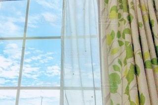 窓からの景色の写真・画像素材[3315284]