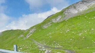 自然,山,高原
