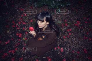 控えめな愛の写真・画像素材[1072135]