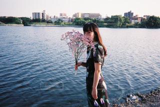 せせらぎの音の写真・画像素材[1378234]