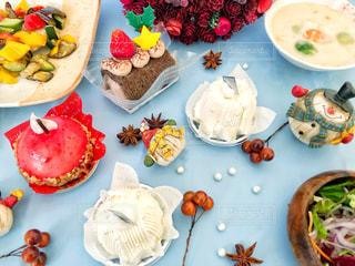 季節限定ケーキの写真・画像素材[1681384]