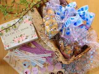 かわいい,プレゼント,袋,クッキー,バレンタイン,手作り,シール,ラッピング,包む,チョコチップクッキー,小包装