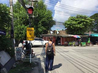 チェンマイの街歩きの写真・画像素材[1034097]