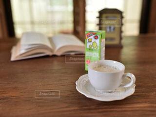 ホッ豆乳の写真・画像素材[3783314]