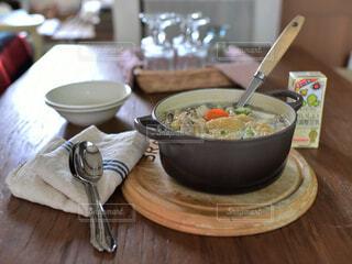 豆乳鍋の写真・画像素材[3786512]