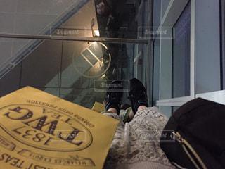 台北101展望台にての写真・画像素材[1037637]