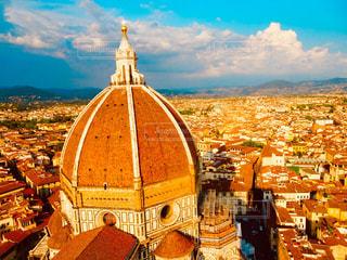 フィレンツェの眺望の写真・画像素材[1032683]