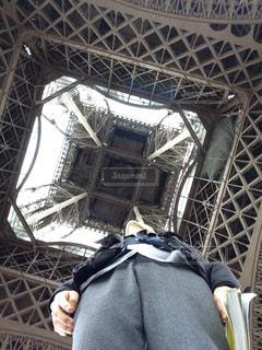 背景の橋と人の写真・画像素材[1034330]