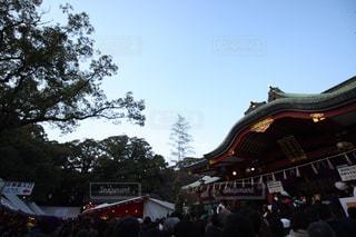 初詣の写真・画像素材[1035027]