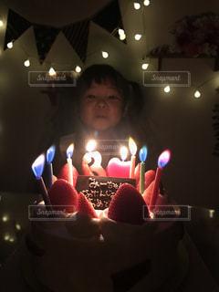 お姫様のお誕生日パーティーの写真・画像素材[1689863]