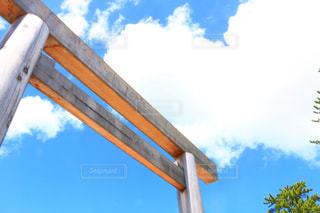 伊勢神宮の鳥居の写真・画像素材[1041766]