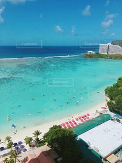 リゾートビーチの写真・画像素材[1035282]