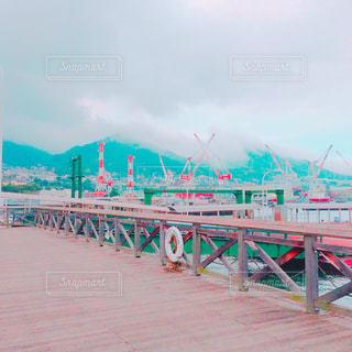 桟橋の写真・画像素材[1035603]