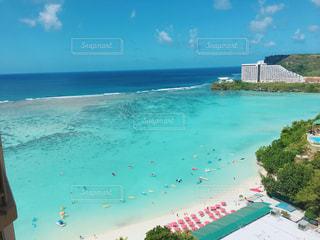 グアムの海の写真・画像素材[1035782]