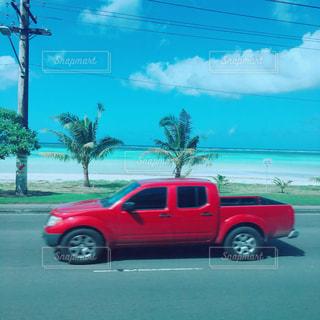 グアムの海の写真・画像素材[1035784]