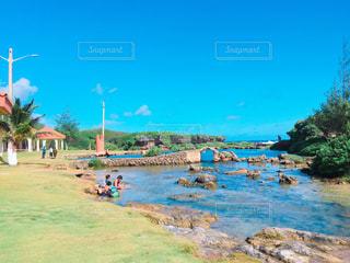 イナラハン天然プールの写真・画像素材[1035795]