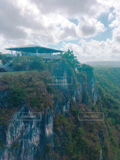 恋人岬の断崖カフェの写真・画像素材[1035838]
