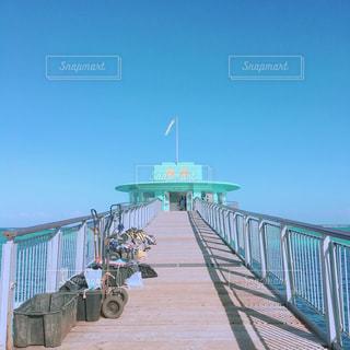海への道の写真・画像素材[1421691]