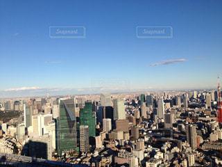六本木ヒルズ展望台からの眺めの写真・画像素材[1038136]