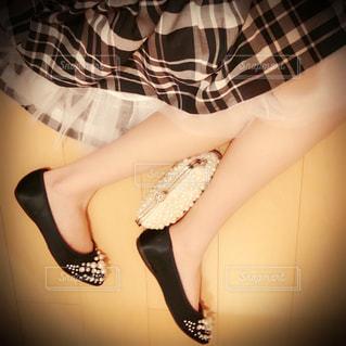Selfie★Plaid Skirtの写真・画像素材[1636282]