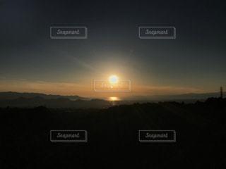 夕日の写真・画像素材[1199436]