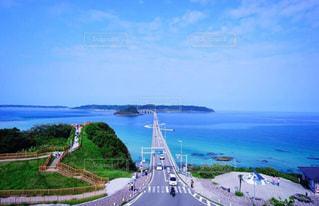角島大橋の写真・画像素材[1038355]