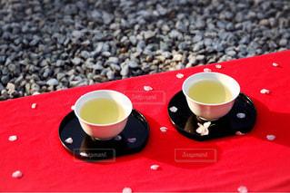 飲み物,春,桜,緑,癒し,日本,和,一眼レフ,河津桜,茶屋,煎茶