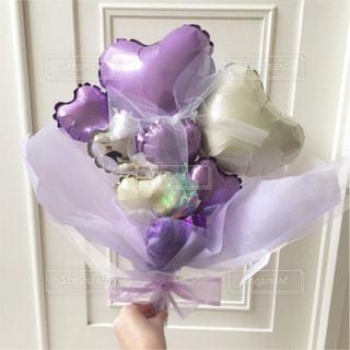 紫色の花の写真・画像素材[1128350]