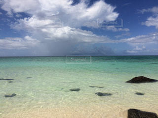 砂浜のビーチの写真・画像素材[1037720]
