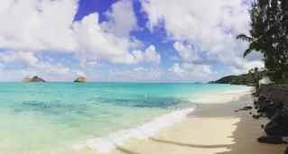 The hidden beachの写真・画像素材[1037777]