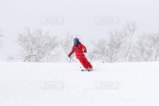 スキーインストラクターの日常の写真・画像素材[1037810]