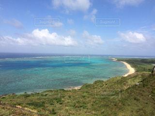 晴れた日の岬からの写真・画像素材[1041330]