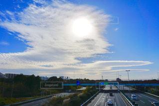 透かし太陽の写真・画像素材[1124591]