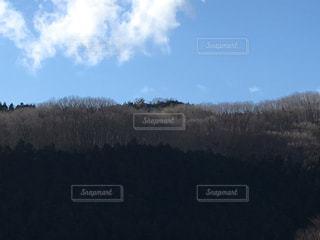 山の木々と青空の写真・画像素材[1107996]