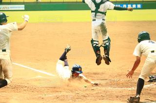 スポーツ,野球,運動,高校野球,スポーツ観戦,応援,ベースボール,野球観戦,ヘッドスライディング,サヨナラ勝ち