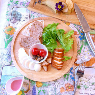 ワンプレート 朝食の写真・画像素材[1043959]
