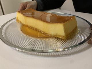 ぷりぷりプリンケーキ作ってみました〜♪の写真・画像素材[3242844]