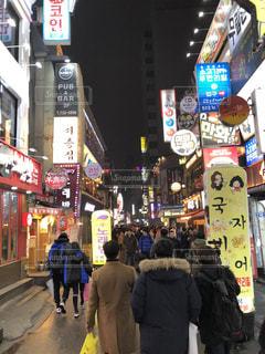 屋外,人物,人,韓国,海外旅行,ソウル,韓国語