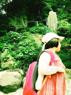 江ノ島神社にての写真・画像素材[1249948]