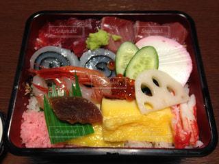 日本海のちらし寿司の写真・画像素材[1066923]