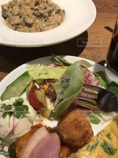 ランチ,店,外食,前菜,イタリアン,お昼,食,リゾット,食欲