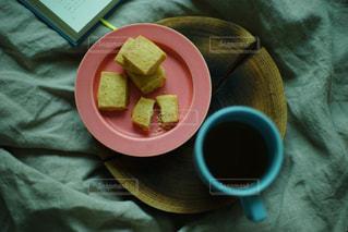 クッキーとコーヒーの写真・画像素材[1081542]