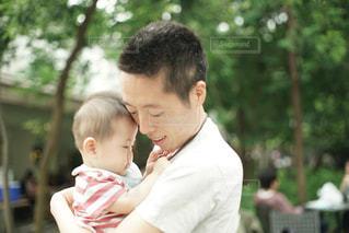 パパと息子の写真・画像素材[1260054]
