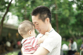 パパと赤ちゃんの写真・画像素材[1260055]