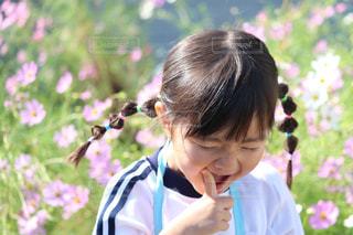 笑顔あふれる女の子の写真・画像素材[1509005]