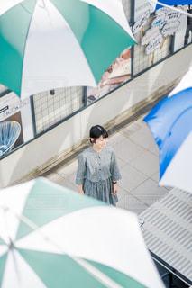 傘の雨の写真・画像素材[1264630]