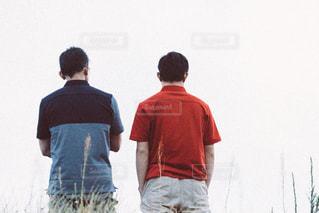 父と子の写真・画像素材[2169133]