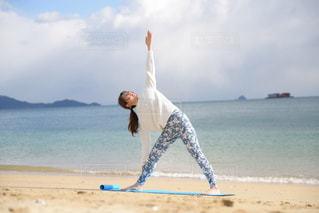 自然,風景,海,ビーチ,海岸,ヨガ,ビーチヨガ,yoga