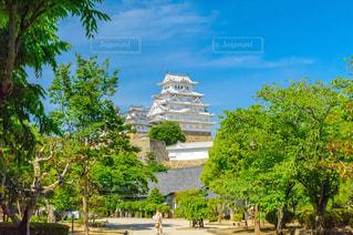 姫路城 連立天守閣の写真・画像素材[1203002]