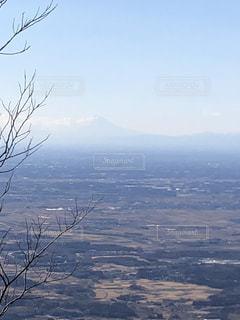 雪の覆われた山々 の景色の写真・画像素材[1042095]